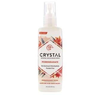 [現貨] Crystal Body Deodorant Spray, Pomegranate 天然止汗噴霧(石榴味)