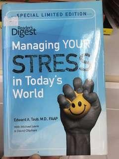 Managing stress in today's world