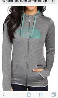 Northface Brand New Ladies Relax Fit Jacket with hood