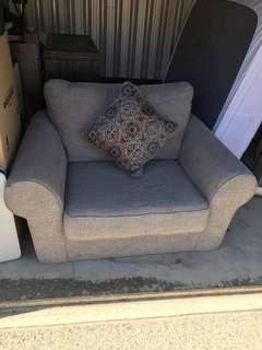 Extra large single seater sofa
