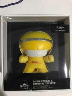 DHL Mini Bluetooth Speakers and Selfie Remote