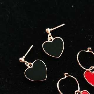 Harajuku Heart Earrings