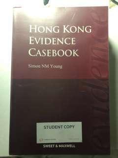 [Law] Hong Kong Evidence Casebook