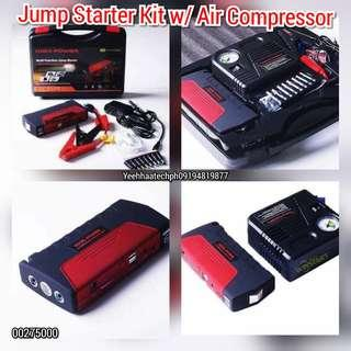 Jump Starter Kit with Air Compressor