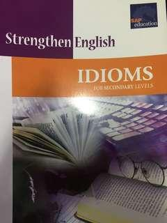 SAP Education Strengthen English Idioms for secondary levels