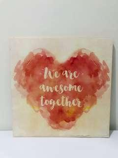 We Are Awesome Together Frame