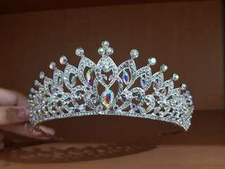 Wedding Crown Mahkota Emas berlian Diamond
