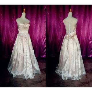 (Code-C11) Dress / Gown / Dinner / Wedding