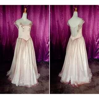 (Code-C10) Dress / Gown / Dinner / Wedding
