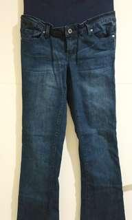 Celana Hamil Jeans Boot Cut Reform