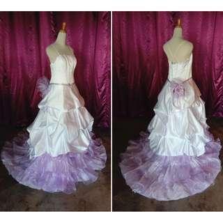 (Code-C12) Dress / Gown / Dinner / Wedding