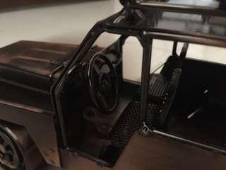 Vintage car model hand made hand craft