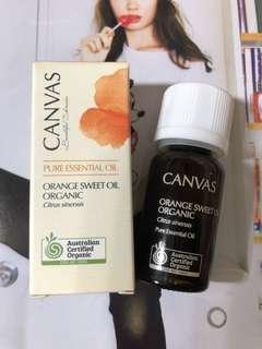 Canvas Pure Essential Oil Orange Sweet Oil Organic 12ml 甜橙油