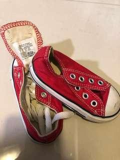 🚚 Red Converse Toddler Sneakers