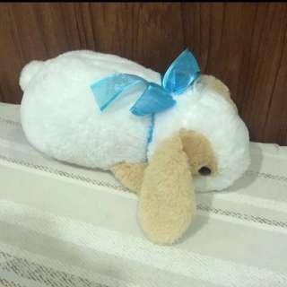 趴型小白兔玩偶