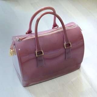 Preloved Furla Jelly Bag