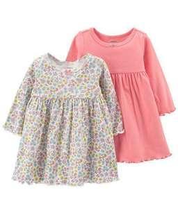 ⚡️PRICE DROP⚡️Carter's Baby Girls 2-pk. Dress Set