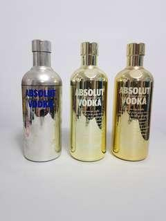 Absolut Vodka Casings x 3 pcs