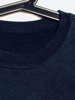 Blue black sweater sweatshirt