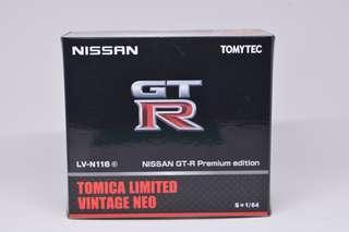 Tomica Limited Vintage Nissan GTR 35 LVN116