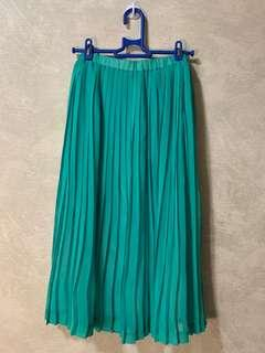土耳其藍 藍綠色 紗裙 / 雪紡裙