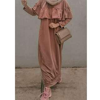 Dress Maxy Busui Rimpel
