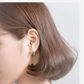 🚚 Starry night stud earrings - Korean - Minimalist - S925 - Sterling Silver