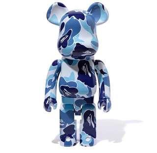 🚚 <BLUE ONLY> Bape Bearbrick 1000 skateboard Louis Vuitton Fendi Offwhite Bogo Box Logo ASSC ANTISOCIALSOCIALCLUB NMD YEEZY KANYE PABLO ADIDAS BAPE GIVENCHY CHANEL MMJ MASTERMIND Bape Stussy Fragment Zebra V2 Vlone GUCCI Visvim Birkin