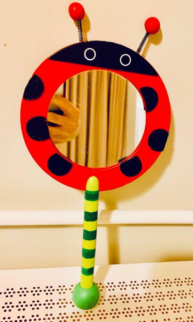 可愛瓢蟲🐞造型手拿鏡/搬家出清