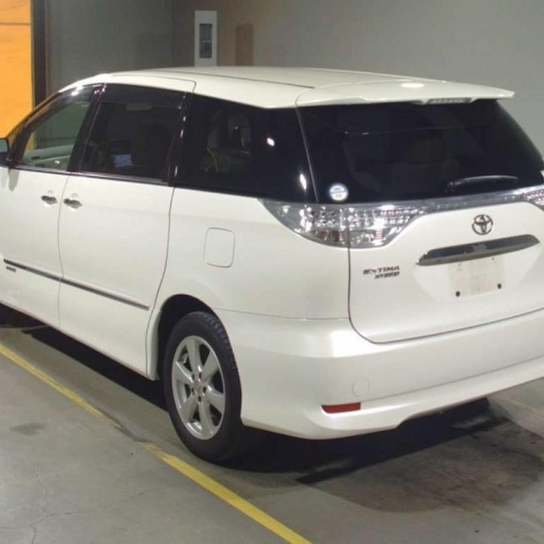 TOYOTA ESTIMA HYBRID 4WD (2010)