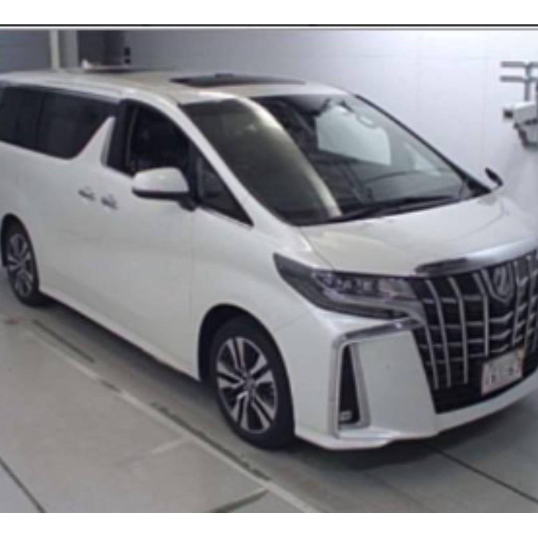 TOYOTA ALPHARD 2.5SC 全新車 2019