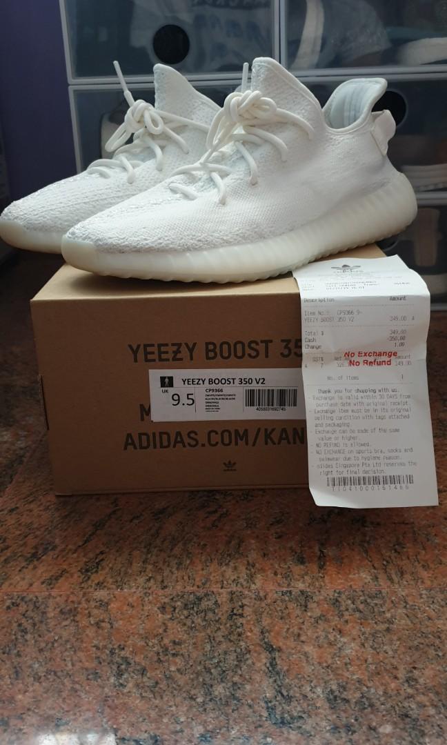 52e2b654e Adidas Yeezy Boost 350 V2 (Cream White) (Triple White)