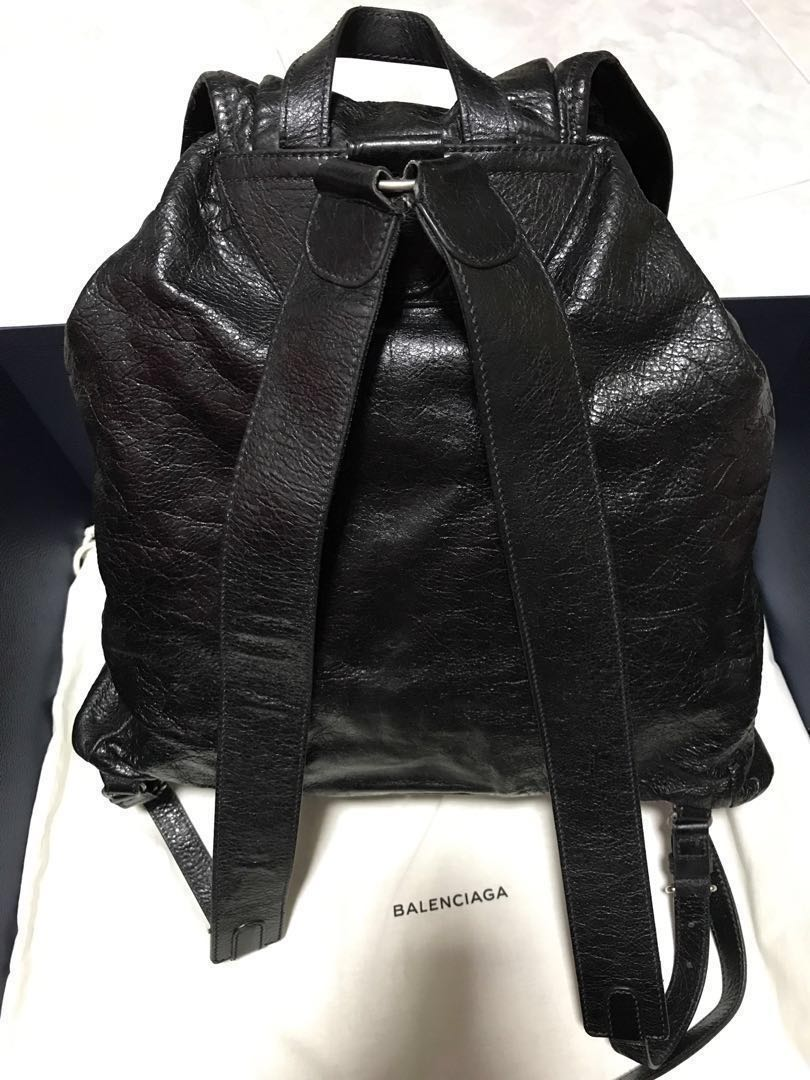 28505f65b41 BALENCIAGA Arena Leather Backpack Bag, Men's Fashion, Bags & Wallets,  Backpacks on Carousell