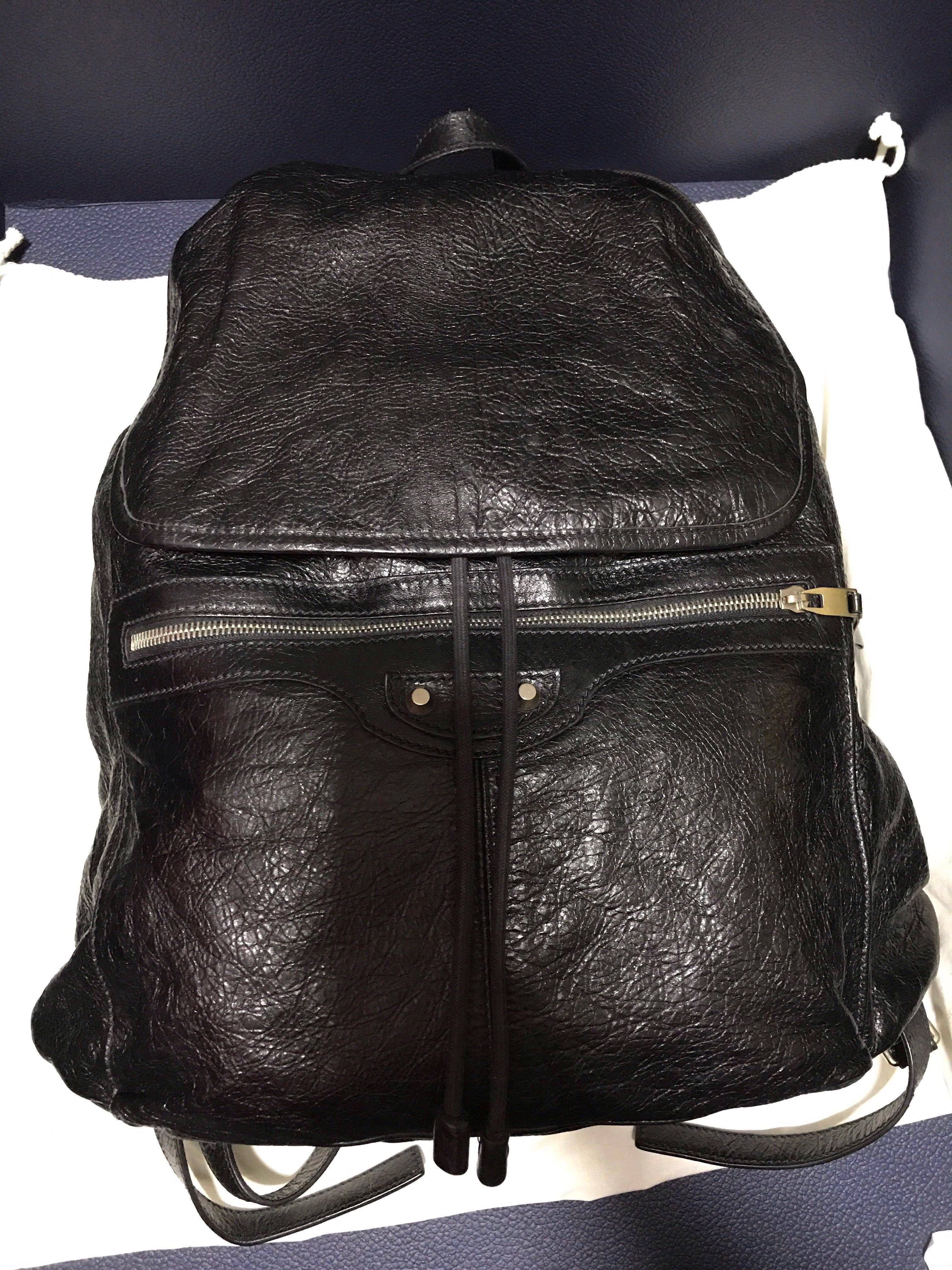 bf1665ce66c BALENCIAGA Arena Leather Backpack Bag, Men's Fashion, Bags & Wallets ...