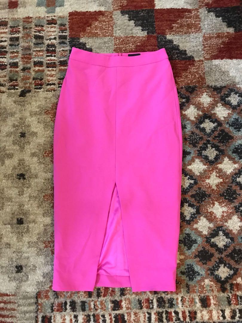 Bardot pink skirt
