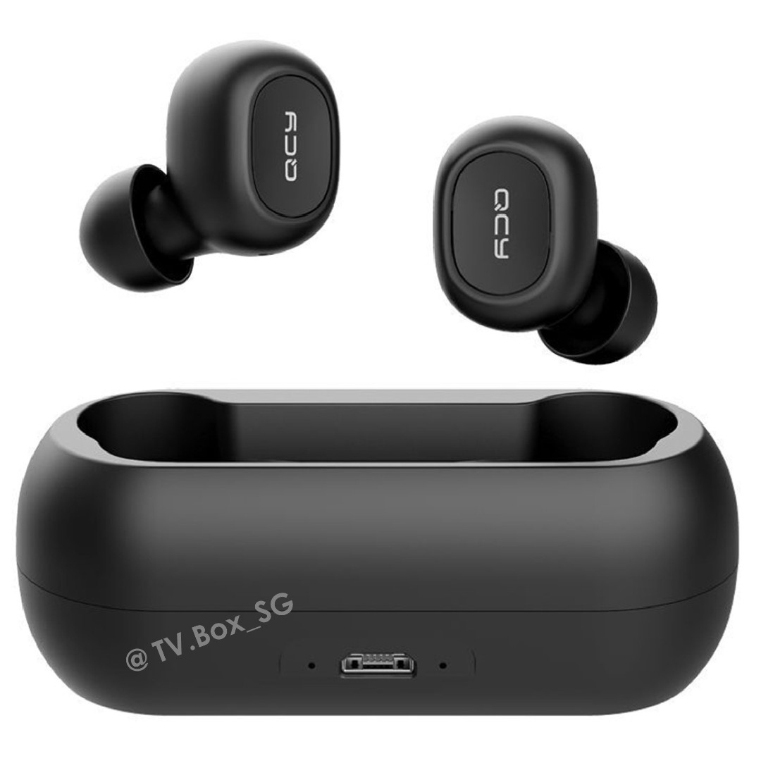c68c73f82be Bluetooth 5.0 earphones QCY T1 bluetooth earpiece bluetooth earbuds ...