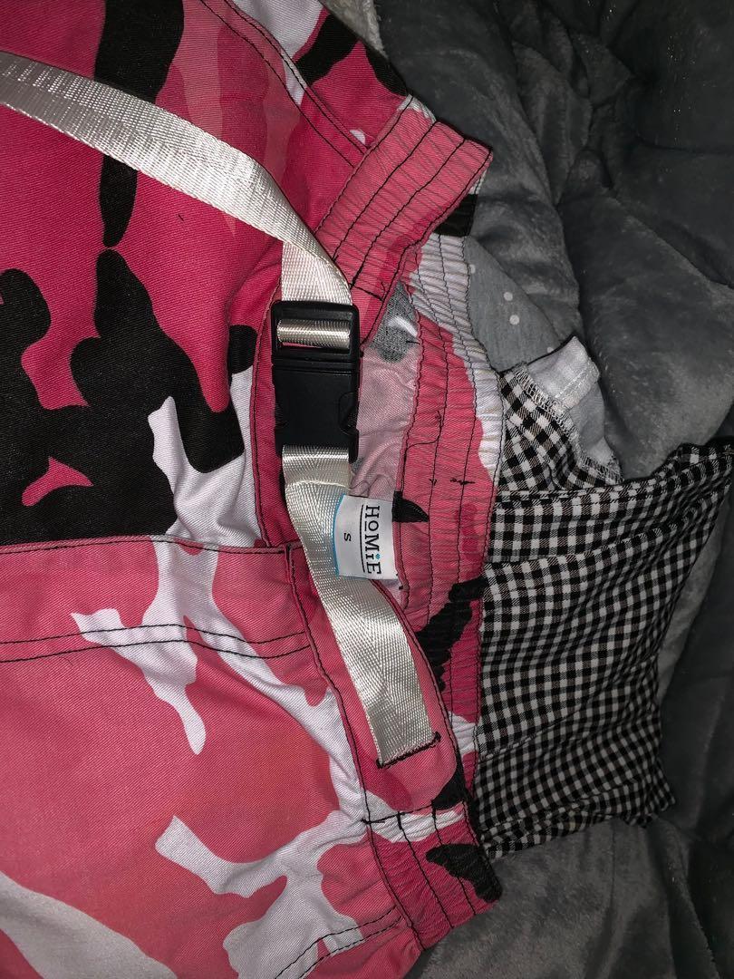 brand new homie camo/cargo pants