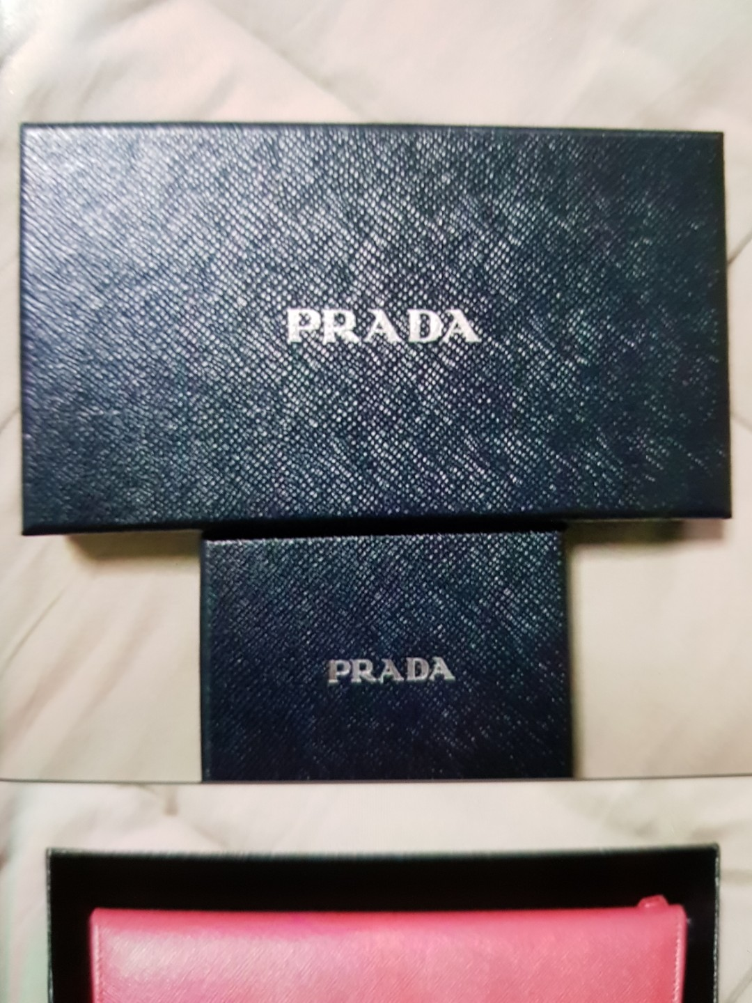 85f600429ffceb BRAND NEW PRADA RED, Luxury, Bags & Wallets, Wallets on Carousell