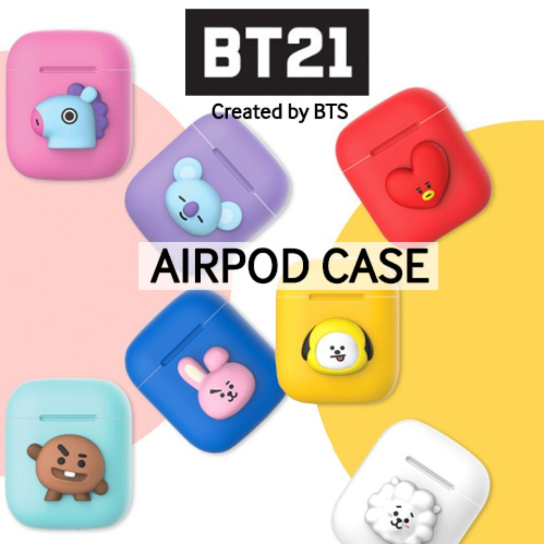 best loved 59c06 34248 BT21 by BTS Apple AirPods Case