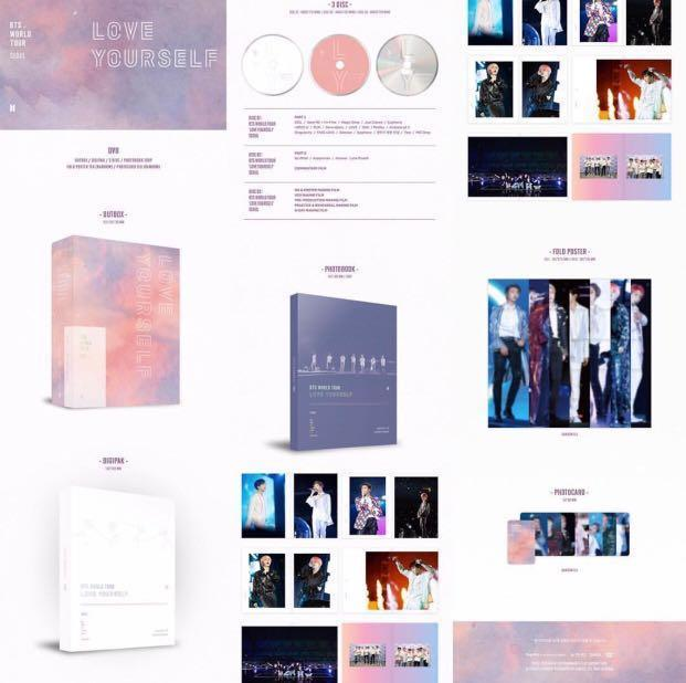 BTS Love Yourself World Tour In Seoul DVD [Sharing‼️]