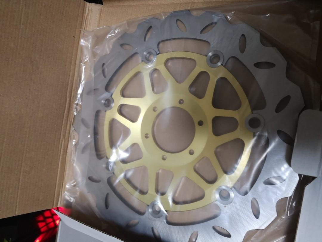 Cb400 front brake rotor/disc