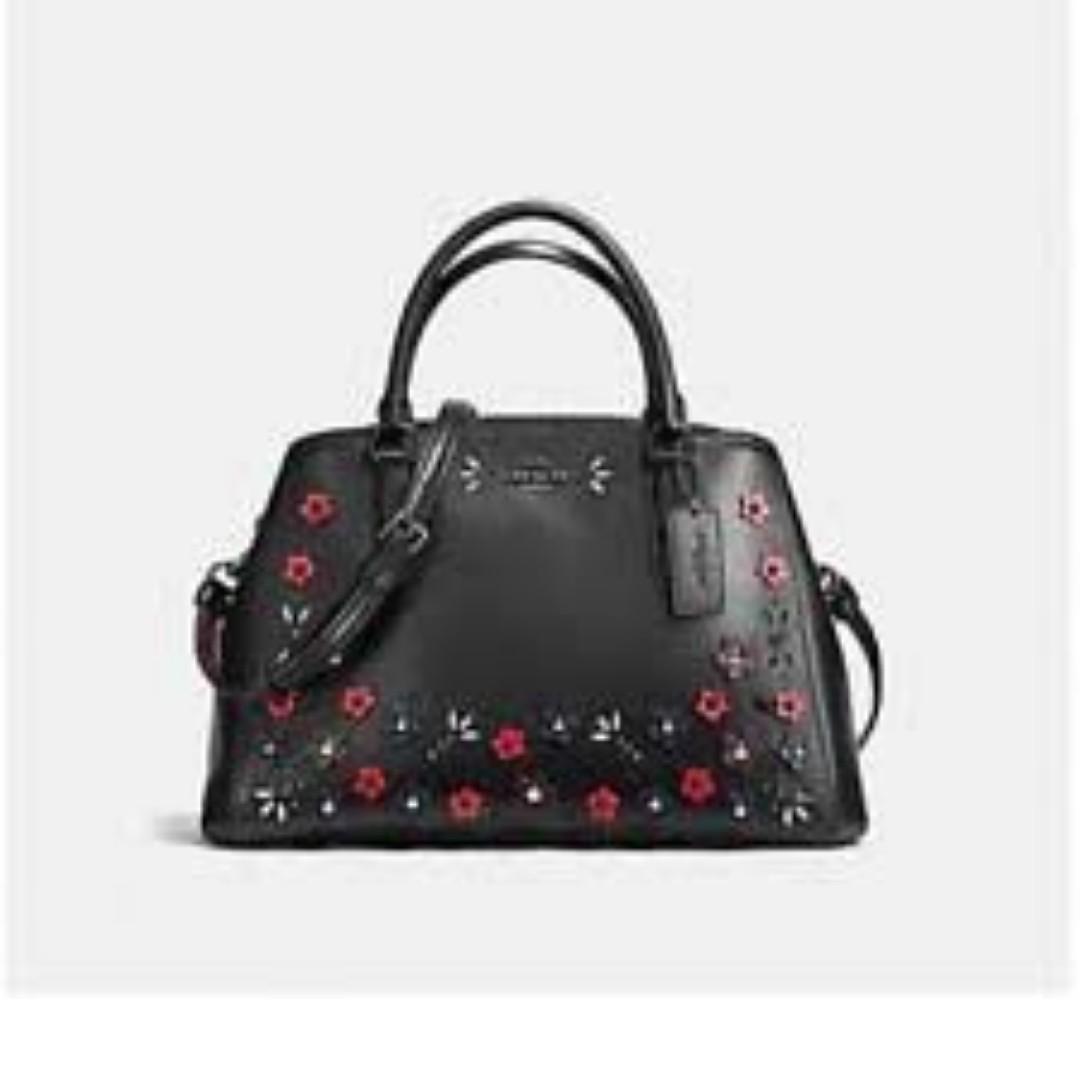 Coach Small Margot Flower Bag. 60% OFF Clearance Sales original price: MYR1090!