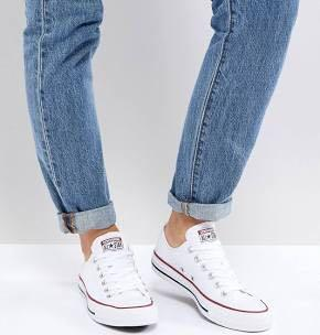 Converse Chucks Low Cut White