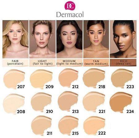 [ON SALE] Dermacol Full Make Up Cover #218