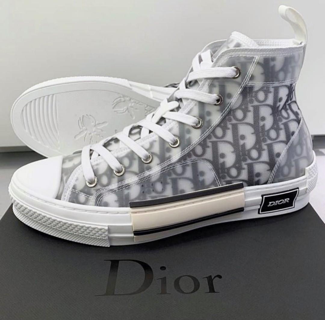 DIOR Oblique High cut sneakers B23, Men