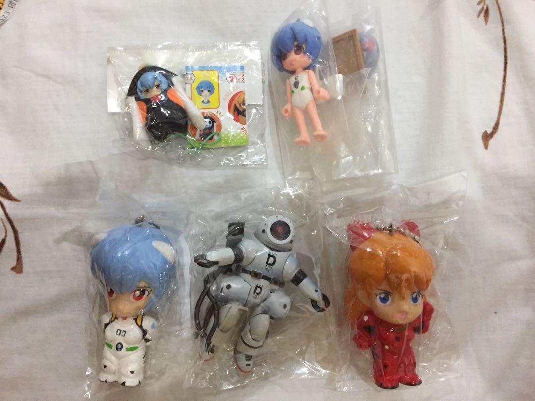 Evangelion Anime Neon Genesis Gainax Figure Rei Asuka bundle Lot