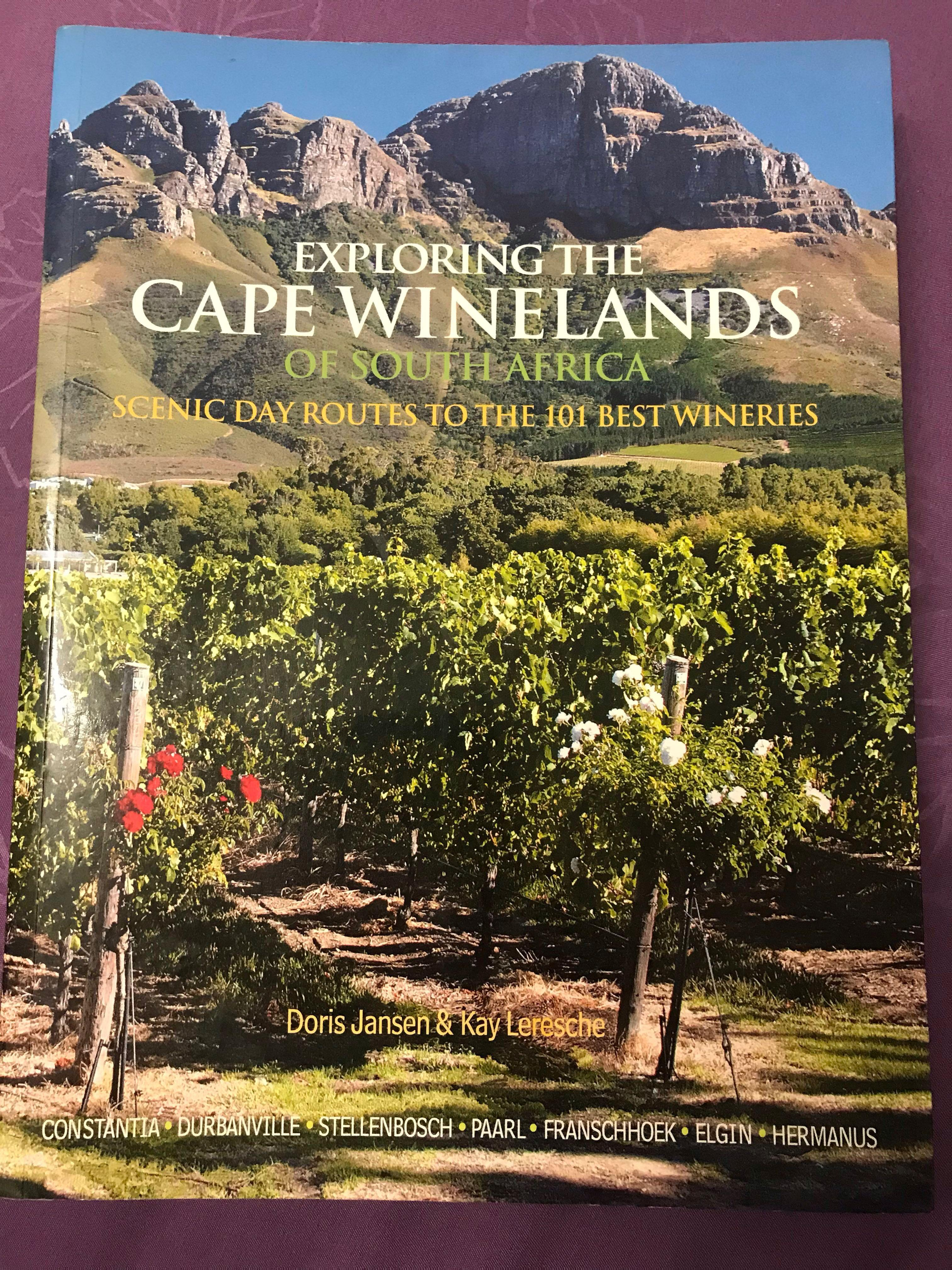 Exploring The Cape Winelands Of South Africa Coffee Table Book Books Stationery Non Fiction On Carousell