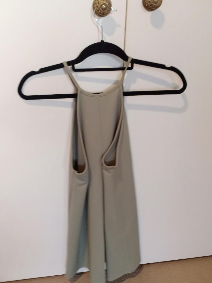 Forever 21 green size small dress, worn once in great condition