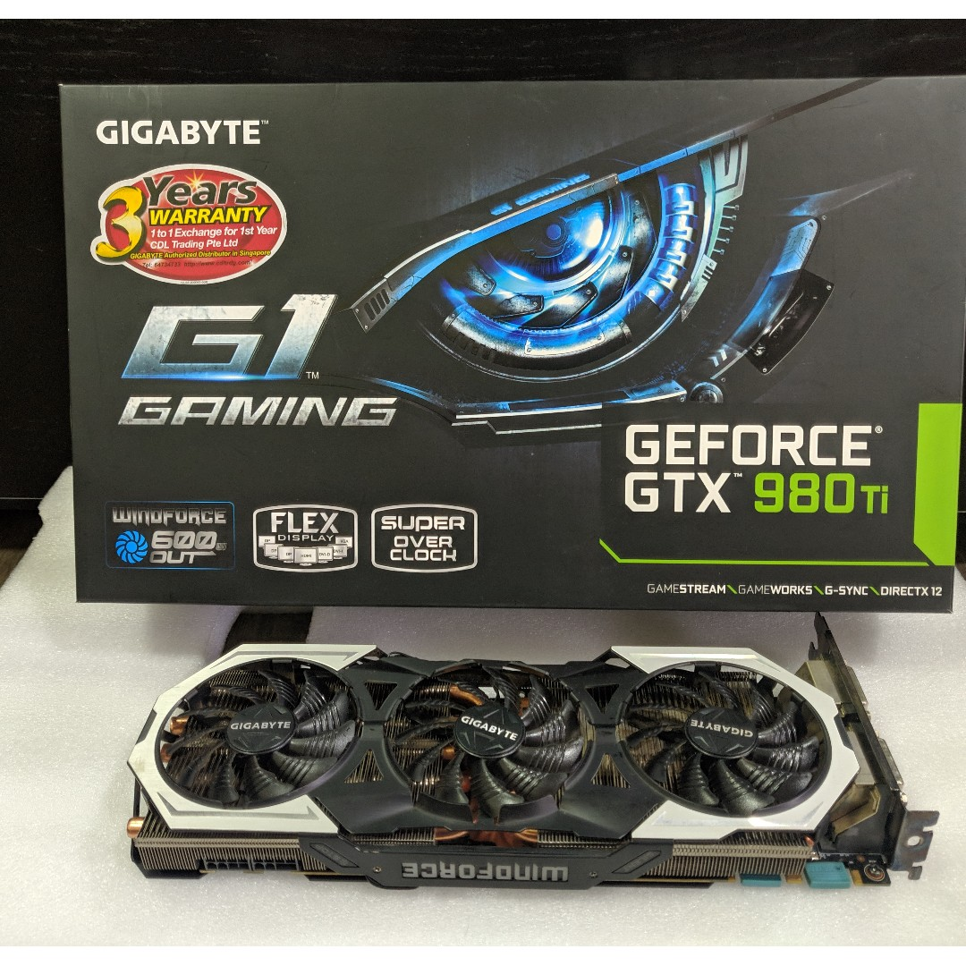Gigabyte GTX 980ti Gaming G1 Graphics Card