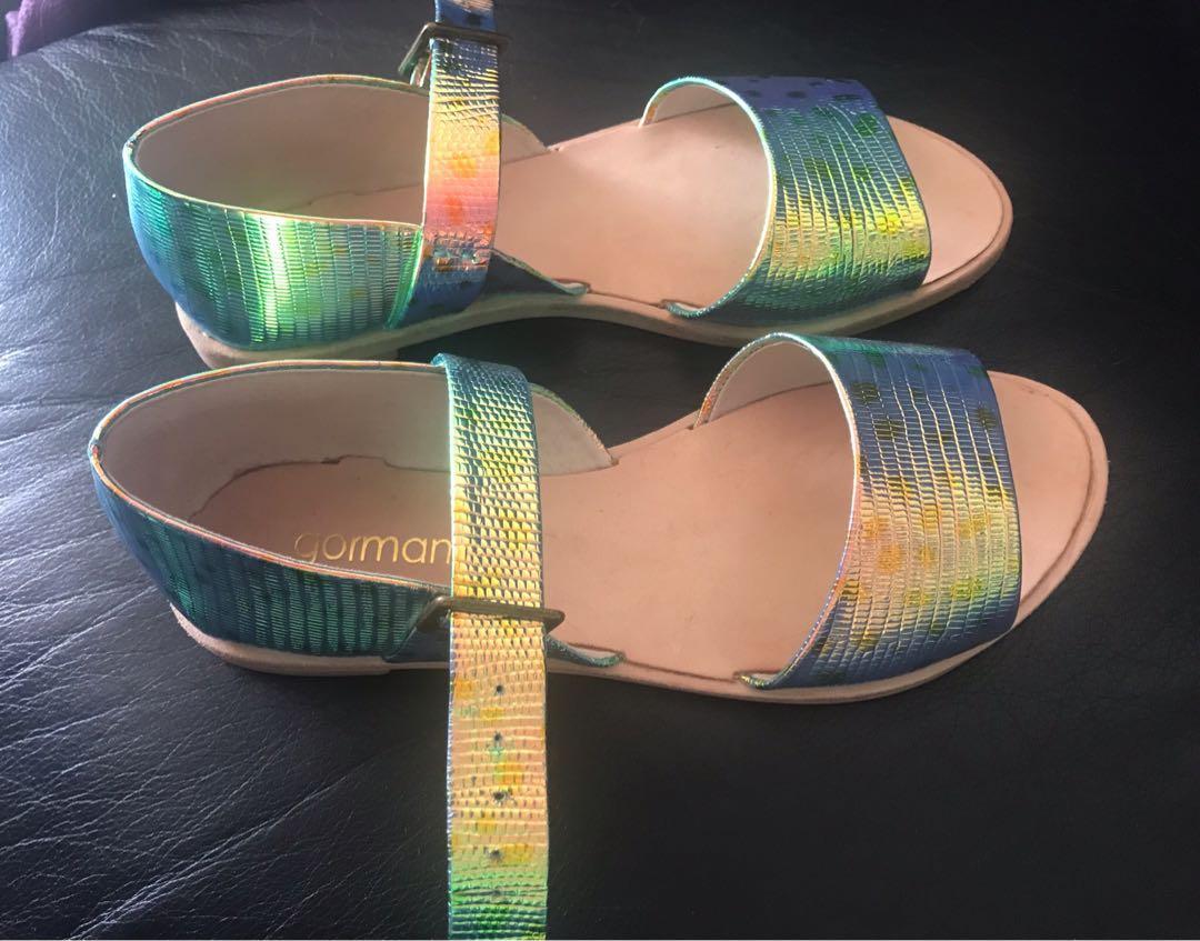 Gorman Mermaid Sandals 36 35 Worn Once